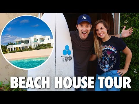 NEW HOUSE TOUR! 🌴 BEACH VACATION HOME!
