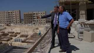 A Planned City for Palestinians in the West Bank