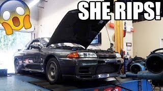 homepage tile video photo for MAXED OUT TURBOS ON THE GTR!!