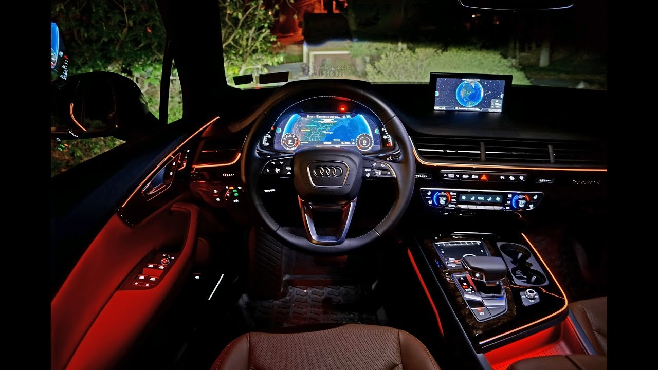 Audi A4 2017 Interior Lighting