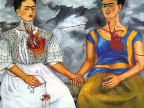 Frida kahlo y las dos fridas youtube for Cuartos decorados de frida kahlo