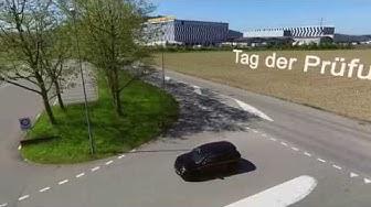 Eine Fahrzeugprüfung im Strassenverkehrsamt Schafisheim