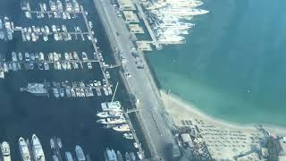Dubai Harbour Project start of construction Emaar Projects next to Palm Jumeirah and Dubai Marina