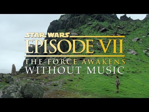 Ending Scene - The Force Awakens (WITHOUT MUSIC)