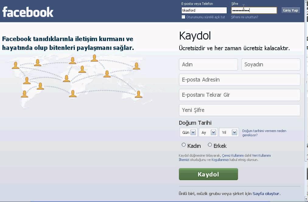 Facebook şifre kırma programı indir gezginler ücretsiz