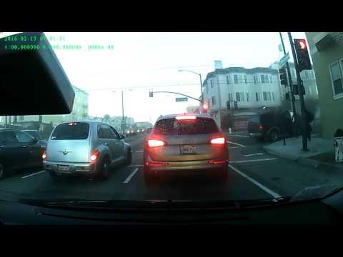 Accident 19th AVE /  Santiago ST San Francisco 20160213 7:00 AM