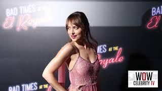 Dakota Johnson At Premiere Of Bad Times At The El Royale