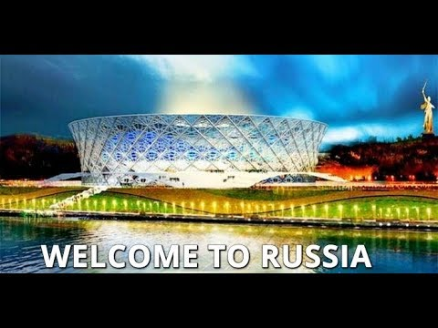 Volgograd is Ready for FIFA World Cup 2018: New Stadium, Volga Embankment All in Place