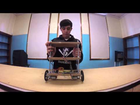 Duncan R - Self-Balancing Robot Milestone 2 (Main Project)