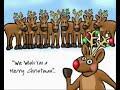 Santa's Reindeer Fart Merry Christmas