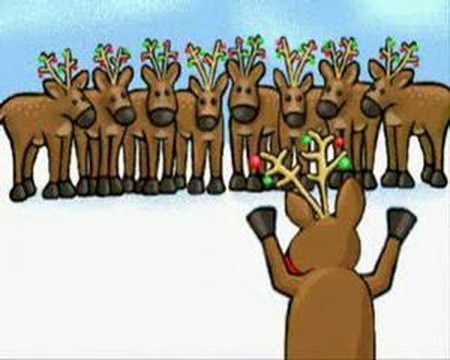 Santa's Reindeer Fart Merry Christmas - YouTube