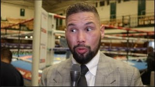 TONY BELLEW (EXCLUSIVE) TYSON FURY UKAD, DAVID HAYE, JAMES DeGALE LOSS & GEORGE GROVES v EUBANK JR