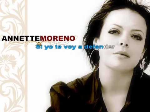 Annette Moreno karaoke  Te Voy a Defender