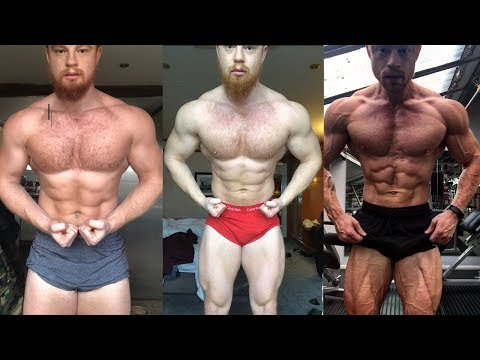 5 Month SHREDDED Body Transformation, (240lbs to 190lbs), Unnatural