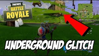 Underground Glitch in Fatal Fields - Fortnite Battle Royale