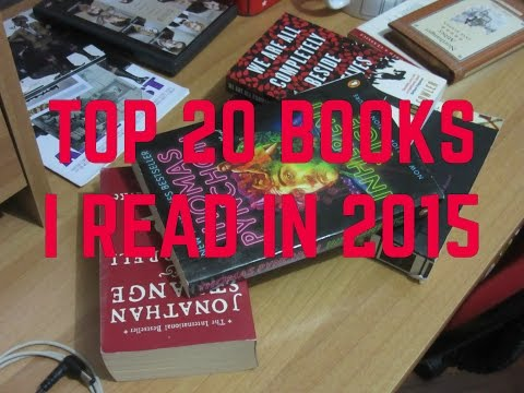 Top 20 Books I Read in 2015
