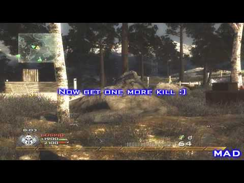 Call Of Duty MW2 Glitches: 2 Killstreaks For 1 Kill (XBOX 360,PS3,PC)