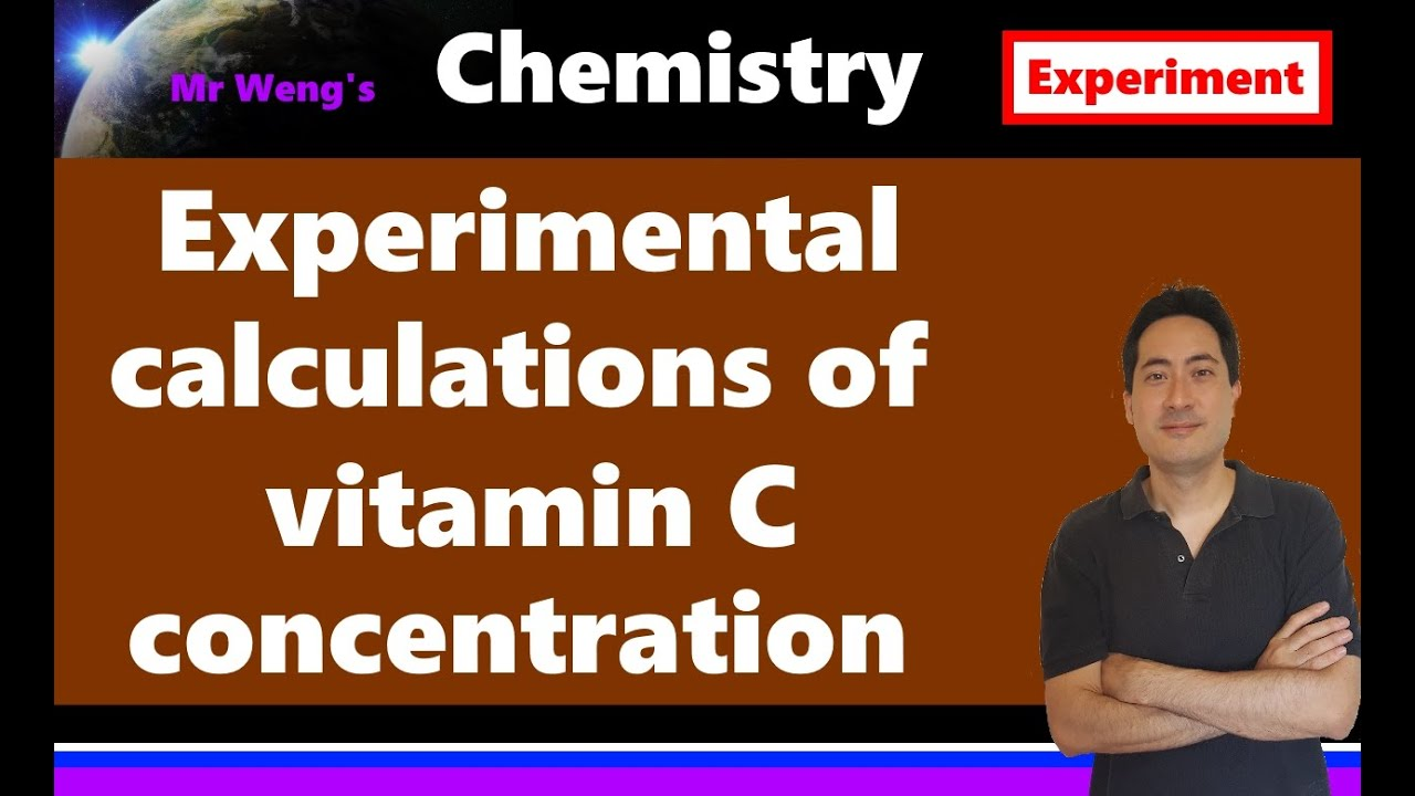 vitamin c analysis by titration