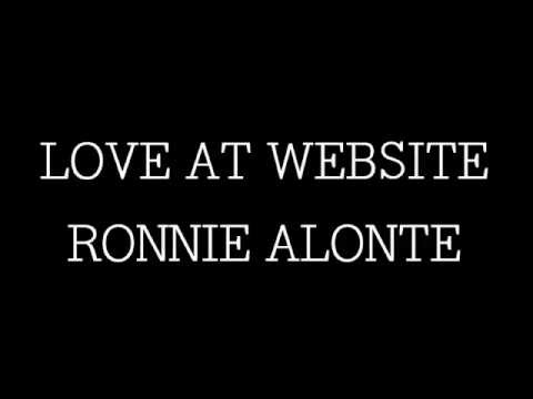 Love at Website - Ronnie Alonte (Official Audio With Lyrics)