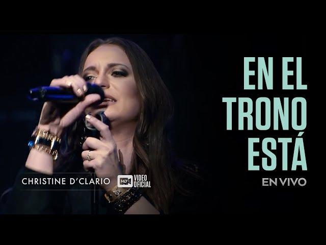 Christine DClario En el Trono es