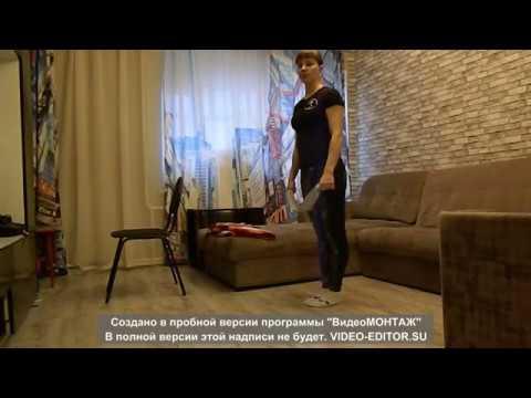 Тренировка по гимнастике дома для детей от 5-6 лет и старше.