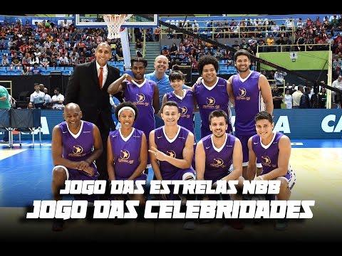 Jogo das Celebridades do NBB feat Fred+10, Scooby, Ivan Moré, Alex Escobar, Raí