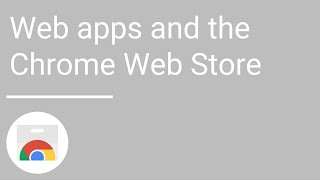 Web apps and the Chrome Web Store thumbnail