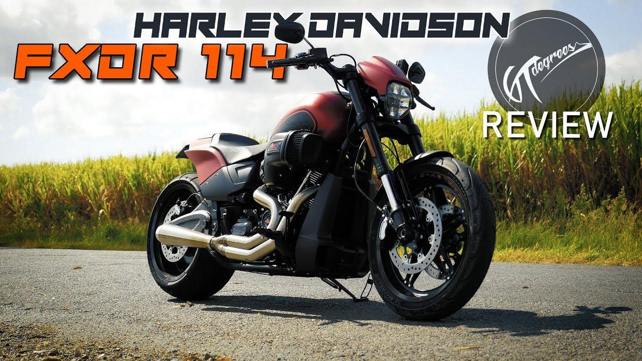 Harley Davidson Fxdr 114 Power Cruiser: Harley Davidson FXDR 114 Review