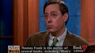 The Wrecking Crew (3), CSPAN, Thomas Frank
