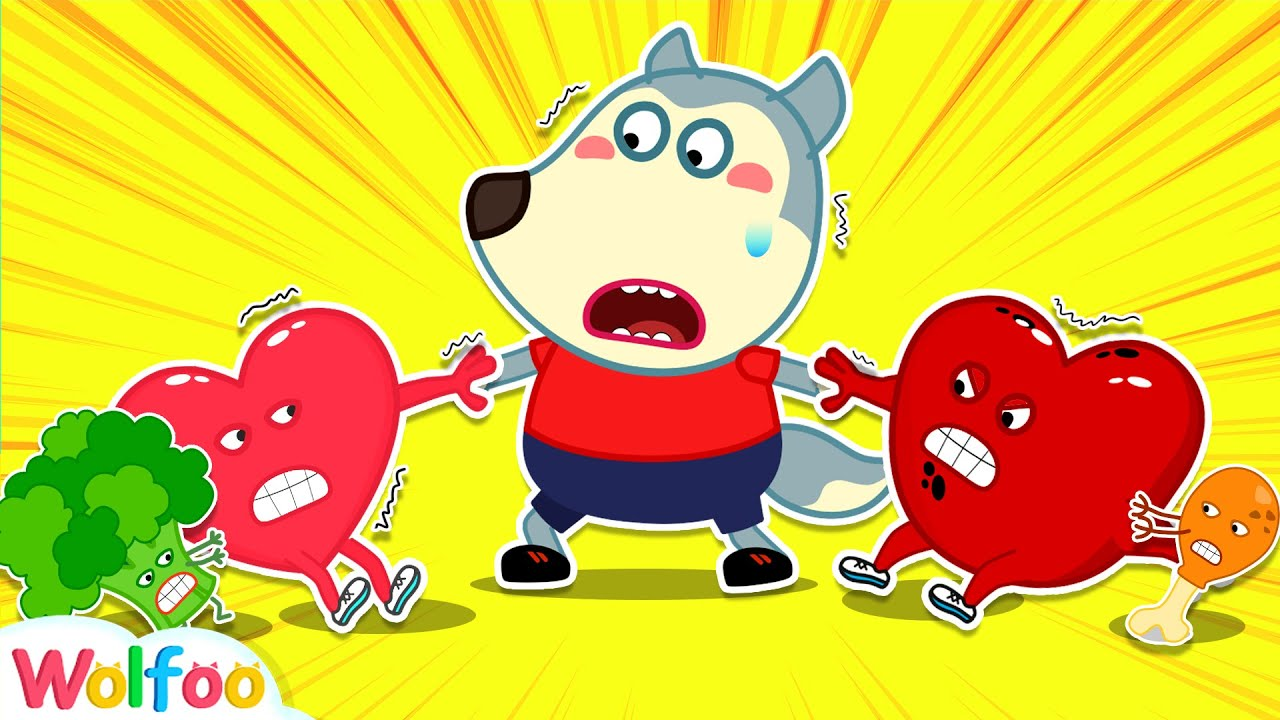 Wolfoo Learns Healthy Habits for Kids with Talking Hearts | Wolfoo Family Kids Cartoon
