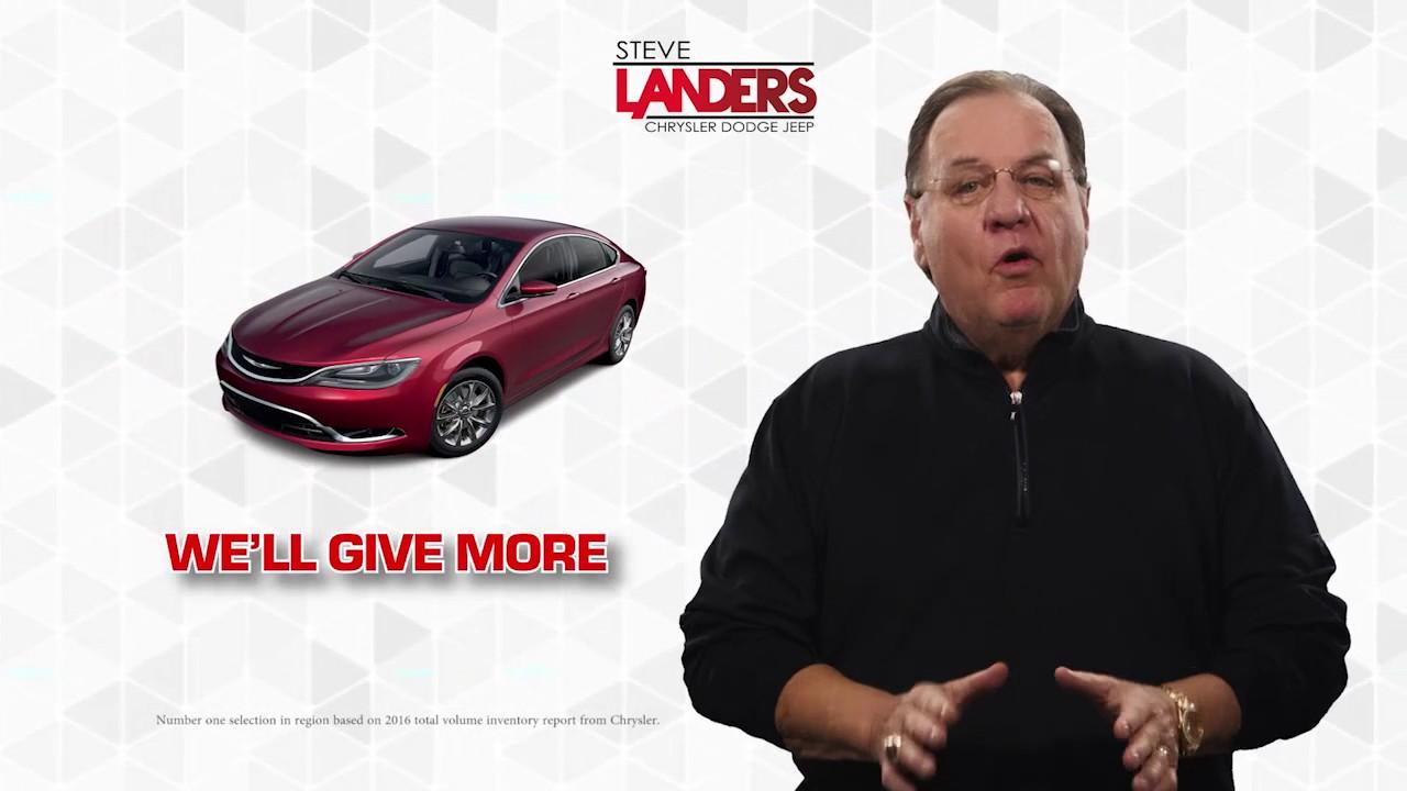 Landers Jeep Little Rock >> Tax Season   Steve Landers Chrysler Dodge Jeep Ram in ...