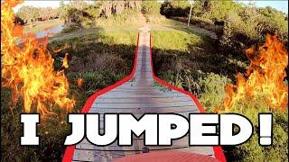 Swifty at Grapefruit Trail // MTB GNARLY TRAIL • I FINALLY JUMPED!!! + New Blackmagic Gear