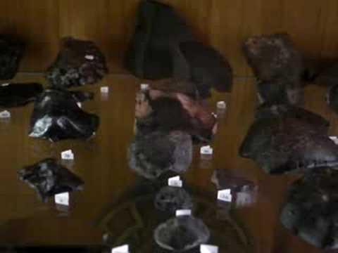 Meteorit-Col·lecció - Meteorite collection