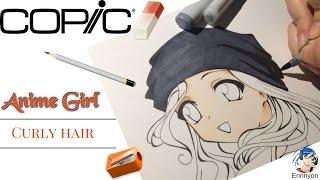How to Draw Manga: Anime Girl Curly Hair