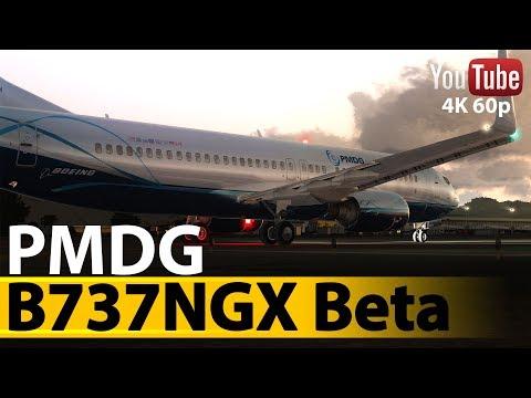 [P3D V4]  Preview B737 PMDG  [UHQ 3840 X 2160]