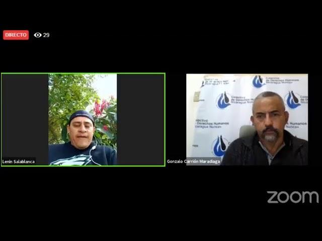 Emisión en directo de Colectivo Derechos Humanos Nicaragua