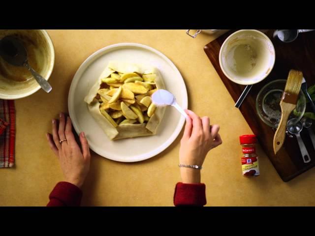 Friendsgiving Dessert: Apple Tart Recipe - Pure Brings Us Home