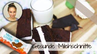 Milchschnitte selber machen - Gesundes Rezept - Low Carb - Snackideen / Süßigkeit - glutenfrei