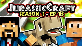 """DINOS ARE FREE!"" Minecraft Roleplay- Jurassic Craft w/Chrisandthemike"
