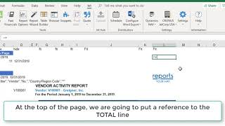 Create a Summary page to a multi-worksheet report using Excel's INDIRECT. (Part 2)