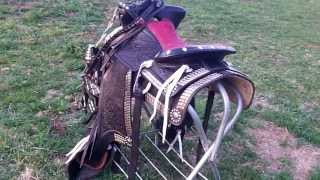 Big Horn Parade  Saddle Set For Sale