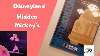 Disneyland Hidden Mickey's