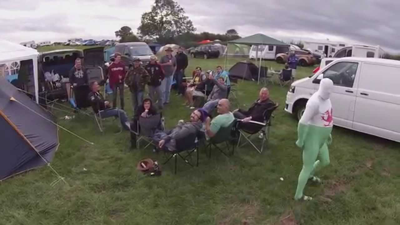 valleys man at silverstone moto gp campsite Welsh quarter - YouTube