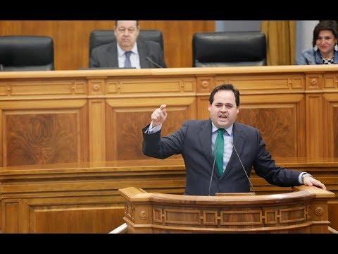 Expulsado del Parlamento regional el diputado Francisco Nuñez tras vincular a Page y Podemos con ETA