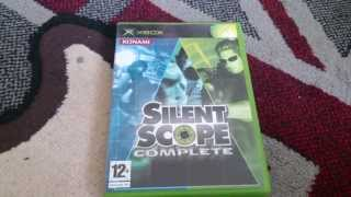 Nostalgamer Unboxes PAL UK Silent Scope Complete Trilogy For Original Xbox One Light Gun Game