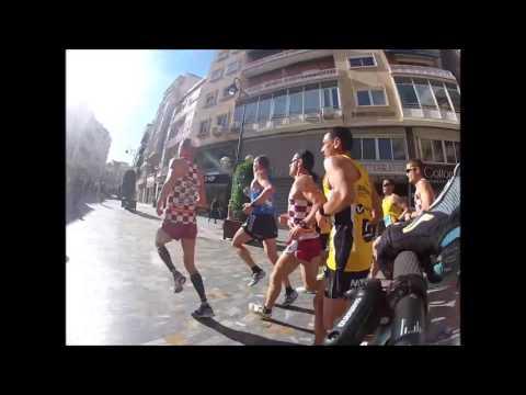 Media maraton cartagena 2016 asta el kilometro 11