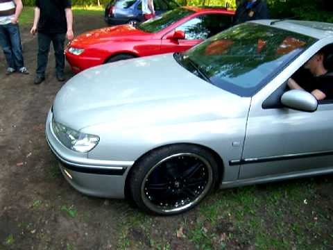 peugeot 406 v6 hannover treffen youtube. Black Bedroom Furniture Sets. Home Design Ideas