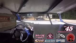 Laurens County Speedway - 602 In-Car Video 7-14-18