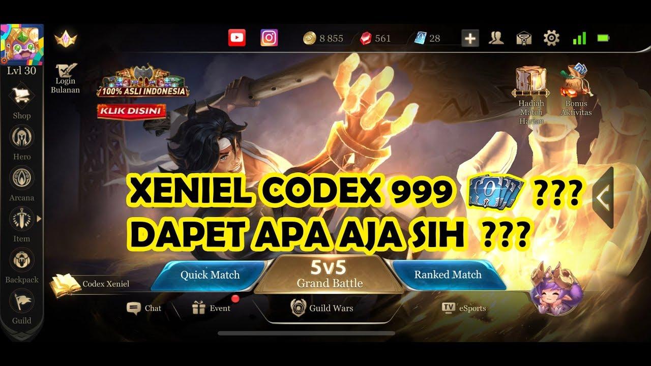 Codex Xeniel Aov  Voucher Aov Arena Of Valor