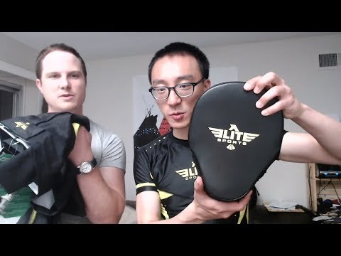 Elite Sports MMA Equipment Unboxing
